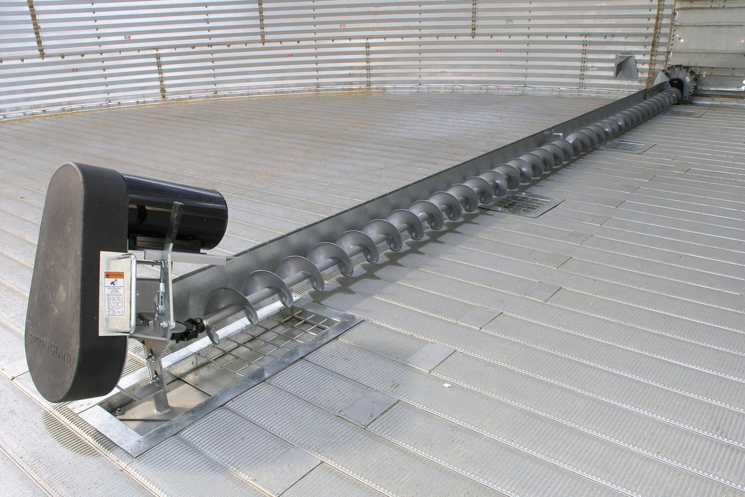 Sweep Augers Grain Unload Screw Auger Silozni Sistemi Ltd